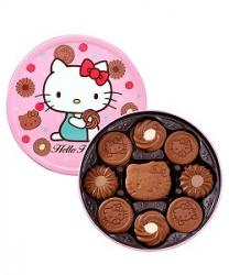 BÁNH QUY CACAO BOURBON HELLO KITTY - 326G
