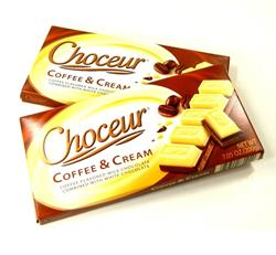 CHOCOLATE CHOCEUR COFFE AND CREAM