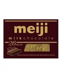 SOCOLA MEIJI MILK CHOCOLATE - 26 BLOCKS
