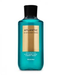 SỮA TẮM GỘI BATH AND BODY WORKS ATLANTIC FOR MEN 3 IN 1 HAIR, FACE & BODY WASH - 295ML